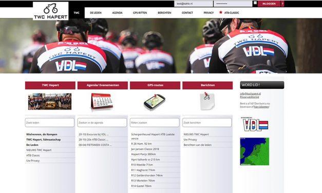 website voor (schilders)verenigingen